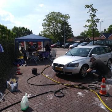 12-05-2018 Auto's wassen Samenloop voor Hoop
