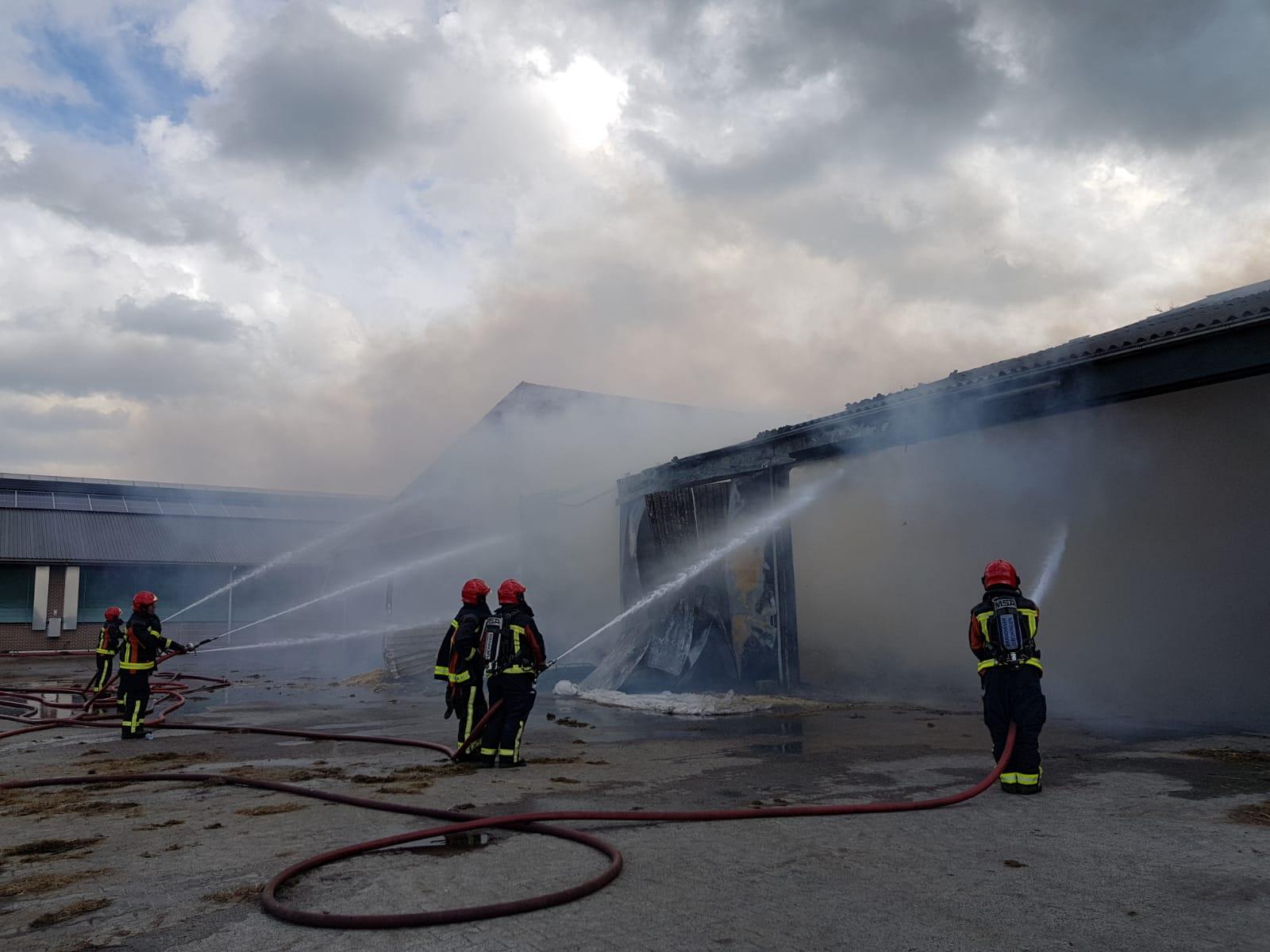 21-09-2018 Grote brand Schuur Sellingen