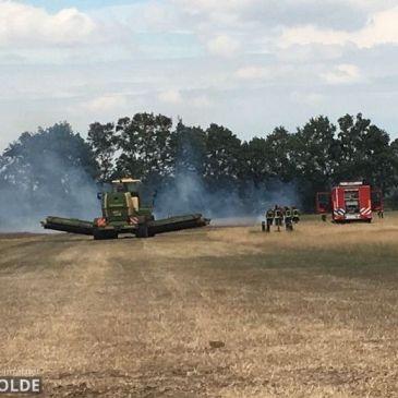 13-08-2018 Buitenbrand evenementen terrein Vlagtwedde