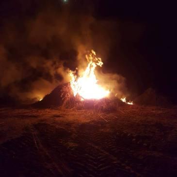 21-02-2019 buitenbrand Vlagtwedde