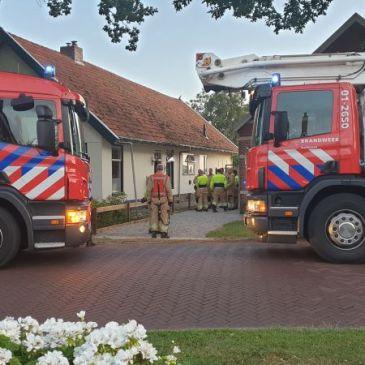 03-07-2019 Schoorsteenbrand Wedde