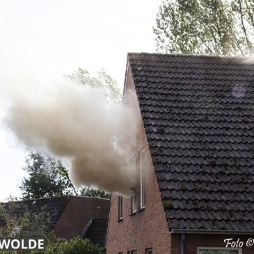 10-10-2019 Woningbrand Wischmei Vlagtwedde