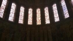 Nanterre, les vitraux de la Cathédrale Sainte Geneviève