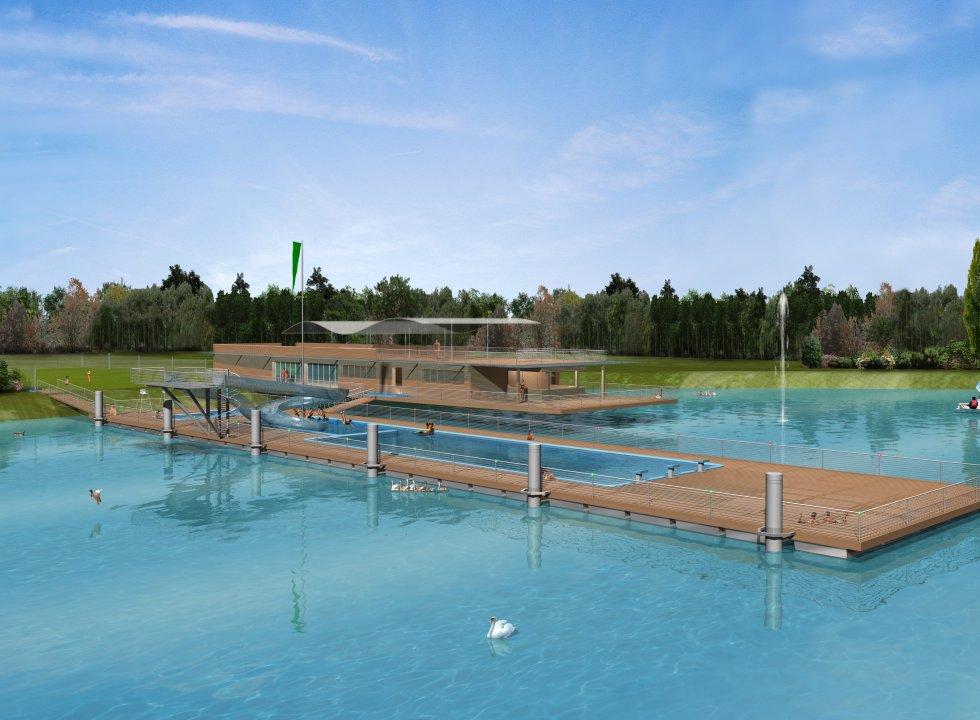 Piscine Municipale de plein air  Atelier Ferret Architectures  Equipements sportifs culturels
