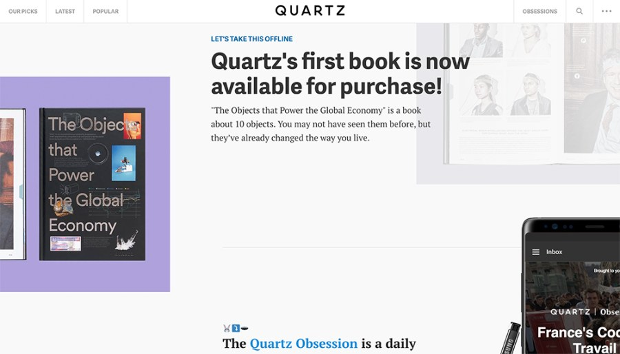 Quartz - Awesome Websites powered by WordPress