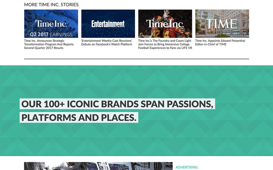 Time Inc. - Awesome Websites powered by WordPress