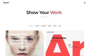 Alecta Architecture Resume WordPress Theme
