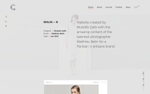 Calafate Architecture Resume WordPress Theme