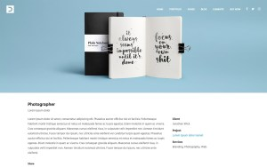 Dendrite Architecture Resume WordPress Theme