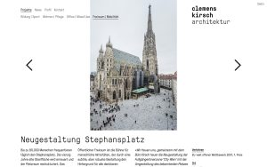 Clemens Kirsch - Best Architecture Websites 2018