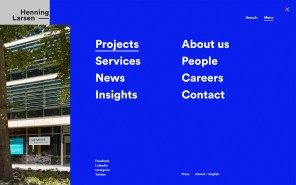 Henning Larsen - Best Architecture Websites 2018