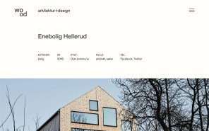 wood arkitektur+design - Best Architecture Websites 2018