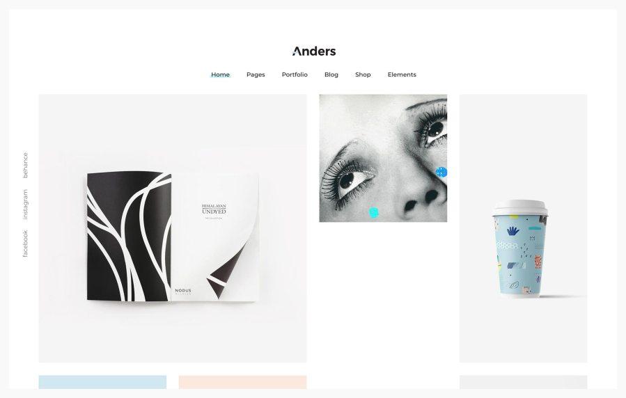 Anders Best Portfolio Wordpress Themes