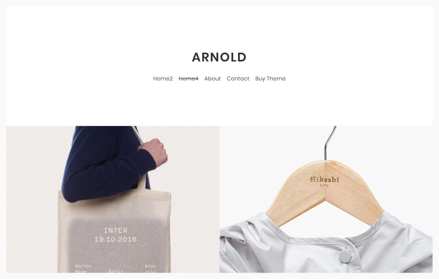 Arnold - Best WordPress Themes for Architects