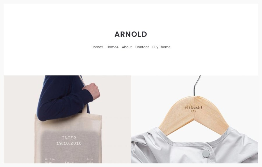 Arnold Best Portfolio WordPress Themes