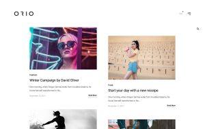 Orio Best Portfolio Wordpress Themes