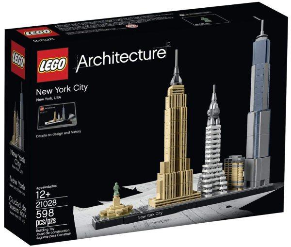 LEGO Architecture - New York City Brick Model Building Set