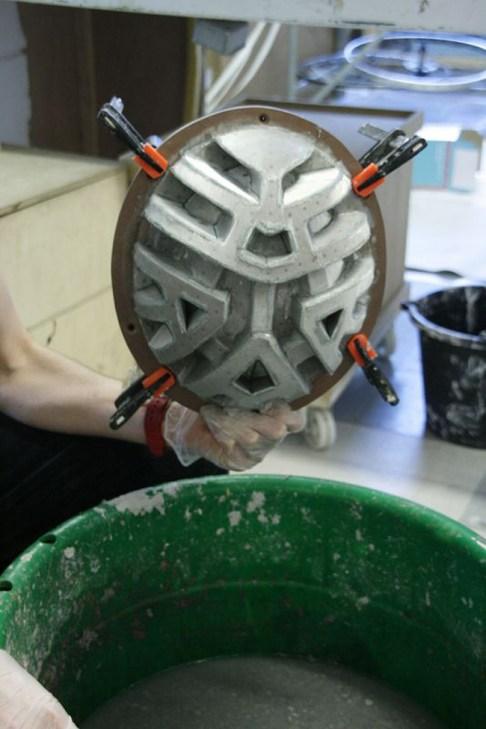 Paper Pulp Helmet 7