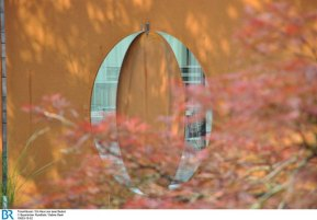 Die korrodierte Stahlwand Bild: BR/Sabine Reeh