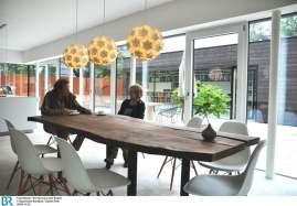 Die Bauherren am Esstisch Bild: BR/Sabine Reeh