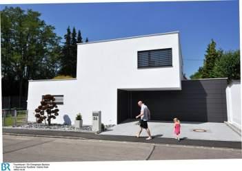 Modern und klar strukturiert im Bauhausstil.