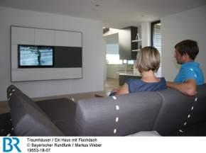 Die Blickachse: Vom Wohnzimmer bis zum Küchenfenster. Bild: BR/Markus Weber.