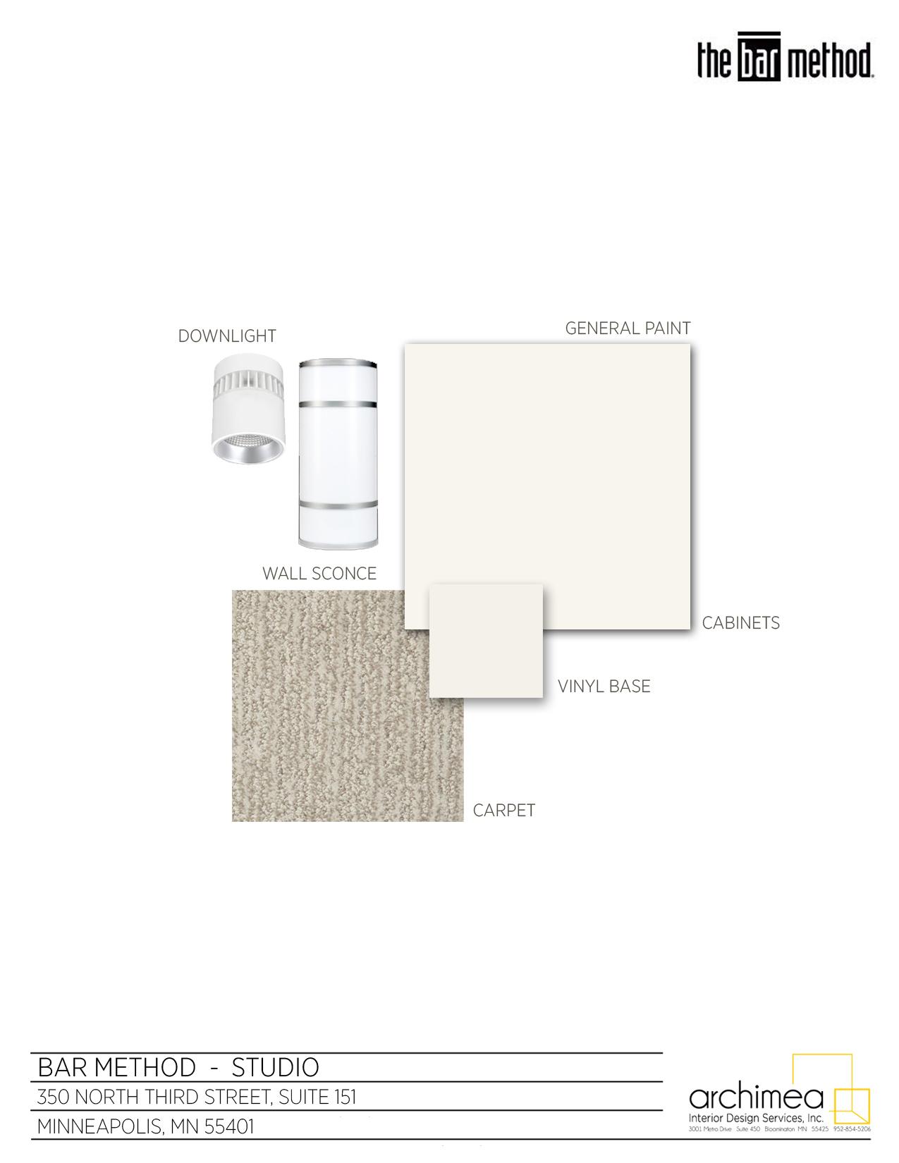 The Bar Method Archimea Interior Design Services