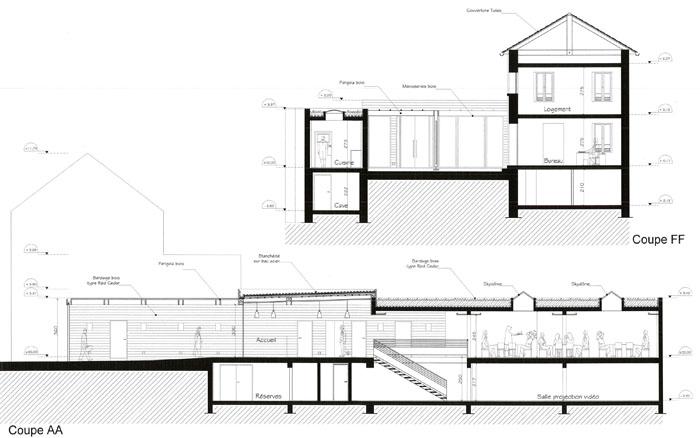 Rhabilitation dune maison en restaurant  archimiefr