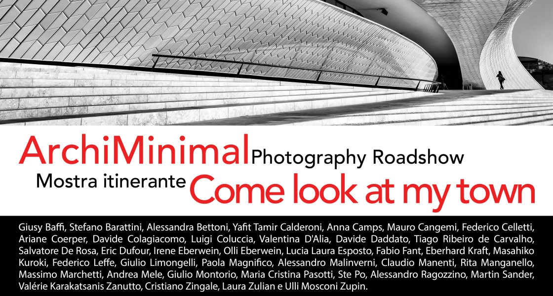 "ArchiMinimal Photography Roadshow, ""Come look at my town!"""