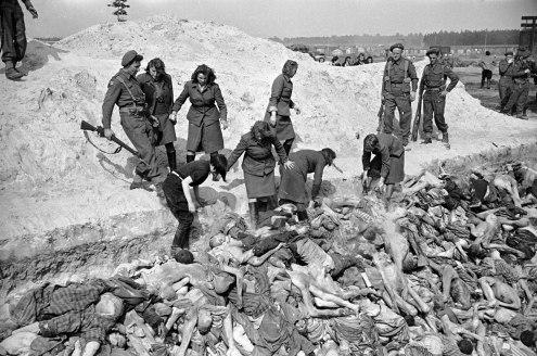 George Rodger - Brgen Belsen 1945