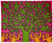 keith-haring-tree-of-life-1985