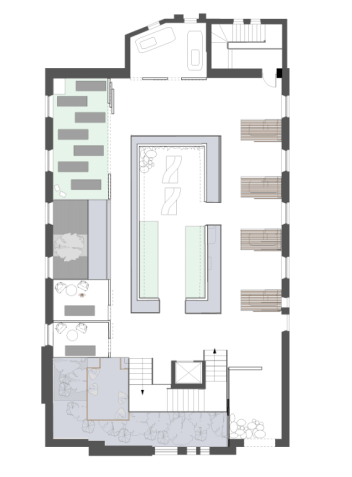 Well-being centre: first floor