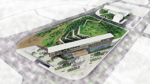 Ostim Eco Park Competition Entry By ONZ Architects News