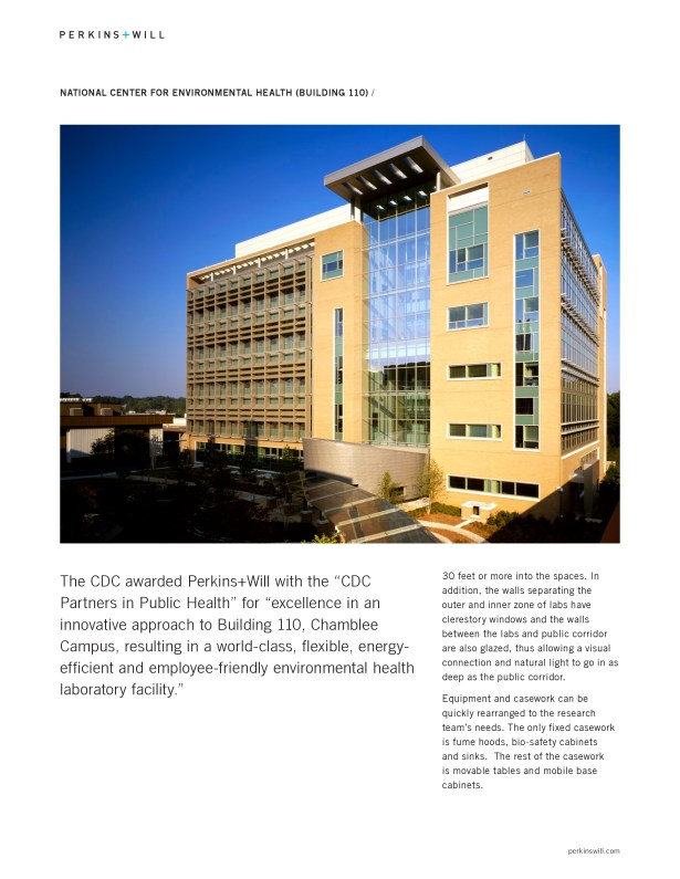 Cdc Chamblee Campus : chamblee, campus, Centers, Disease, Control, Prevention, (CDC), National, Center, Environmental, Health, Building, Joseph, Archinect