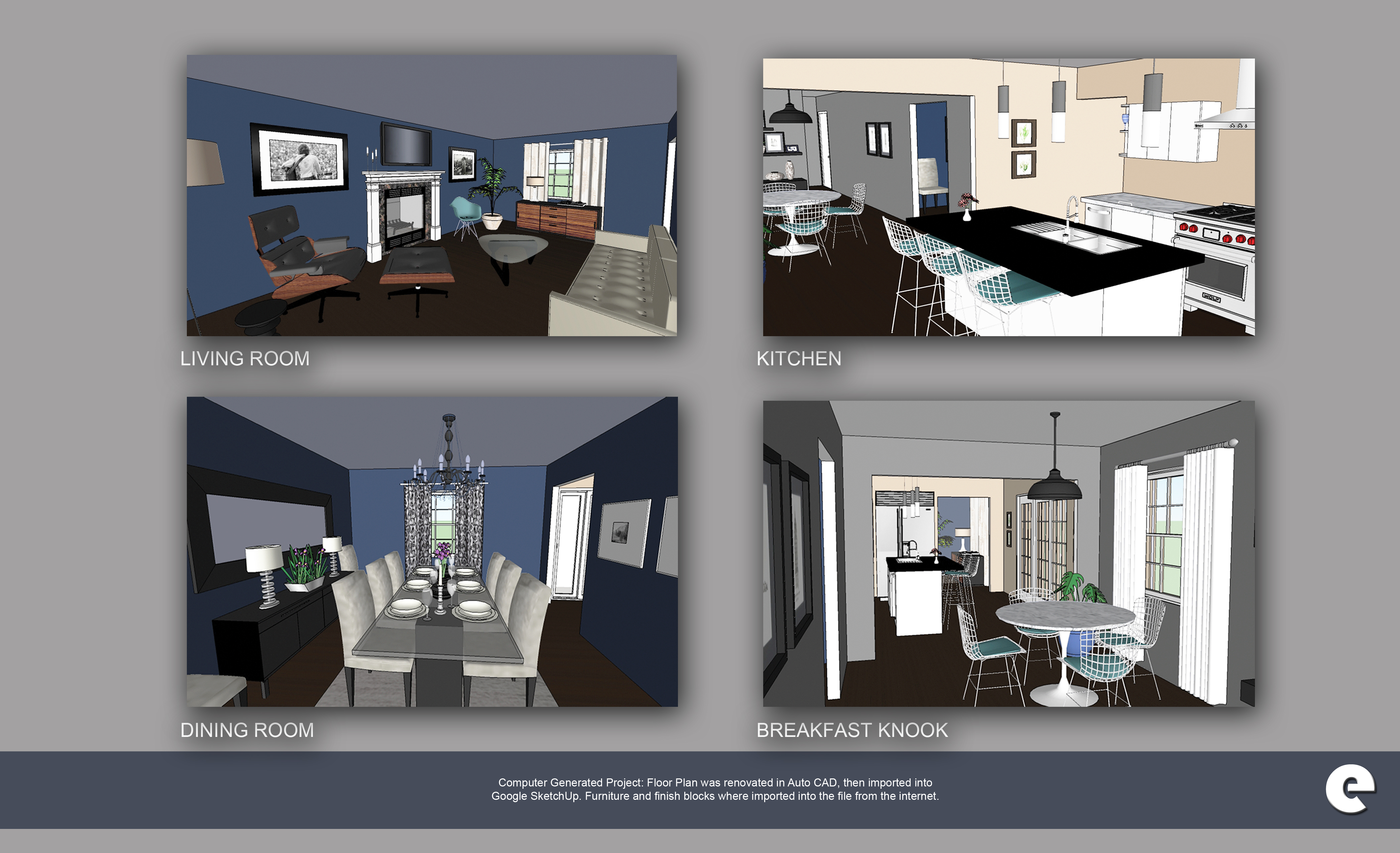 SketchUP Generated House  Emily Lambrow  Archinect