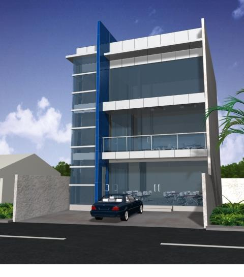 3 Storey Commercial Building Jay Benitez Archinect