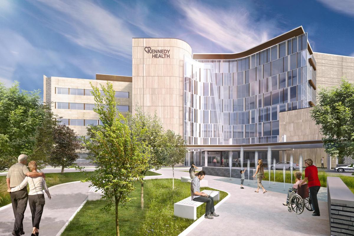 Kennedy Health System Phase 1 Campus Revitalization | Evan ...