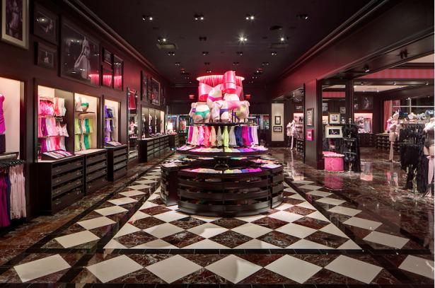 Victoria's Secret Store Design Ayesha Khan Archinect
