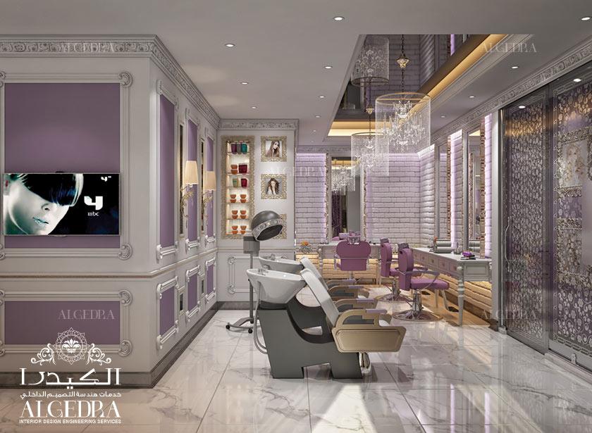 Beauty salon in Riyad interior design   ALGEDRA design   Archinect