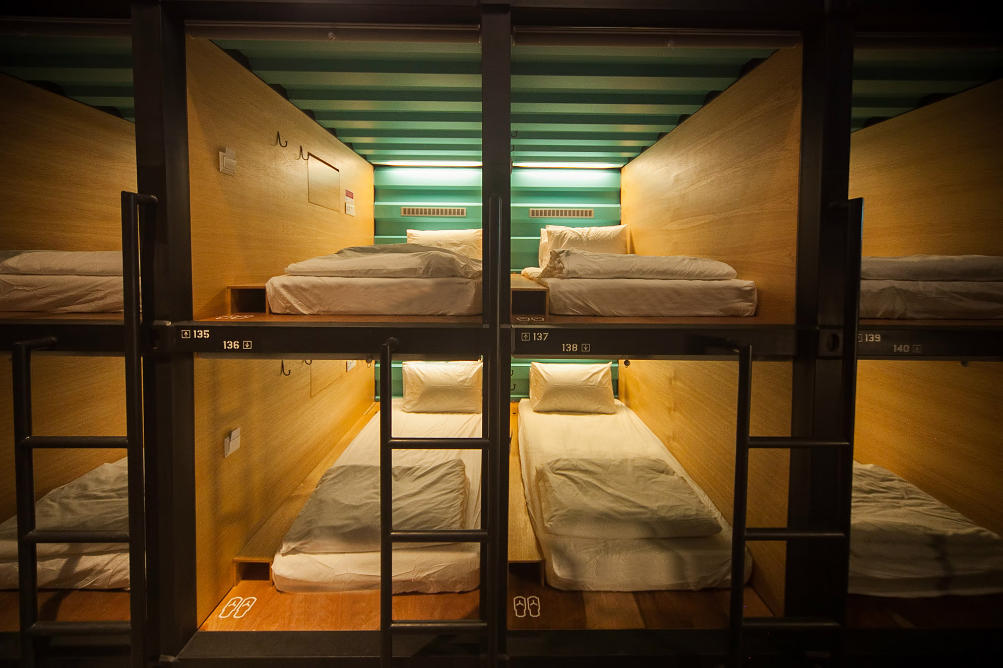 Capsule Container Hotel Tzu Peng Archinect
