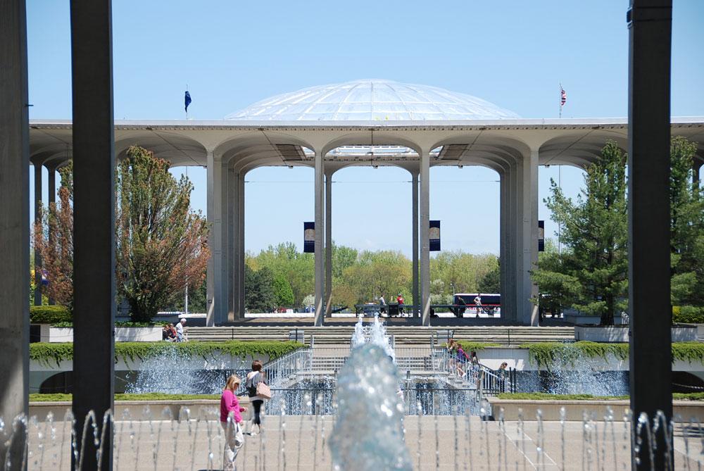 SUNY Albany Podium Skylights Robert Siegel Archinect