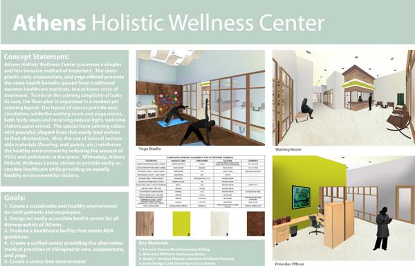 Healthcare Design  Athens Holistic Wellness Center
