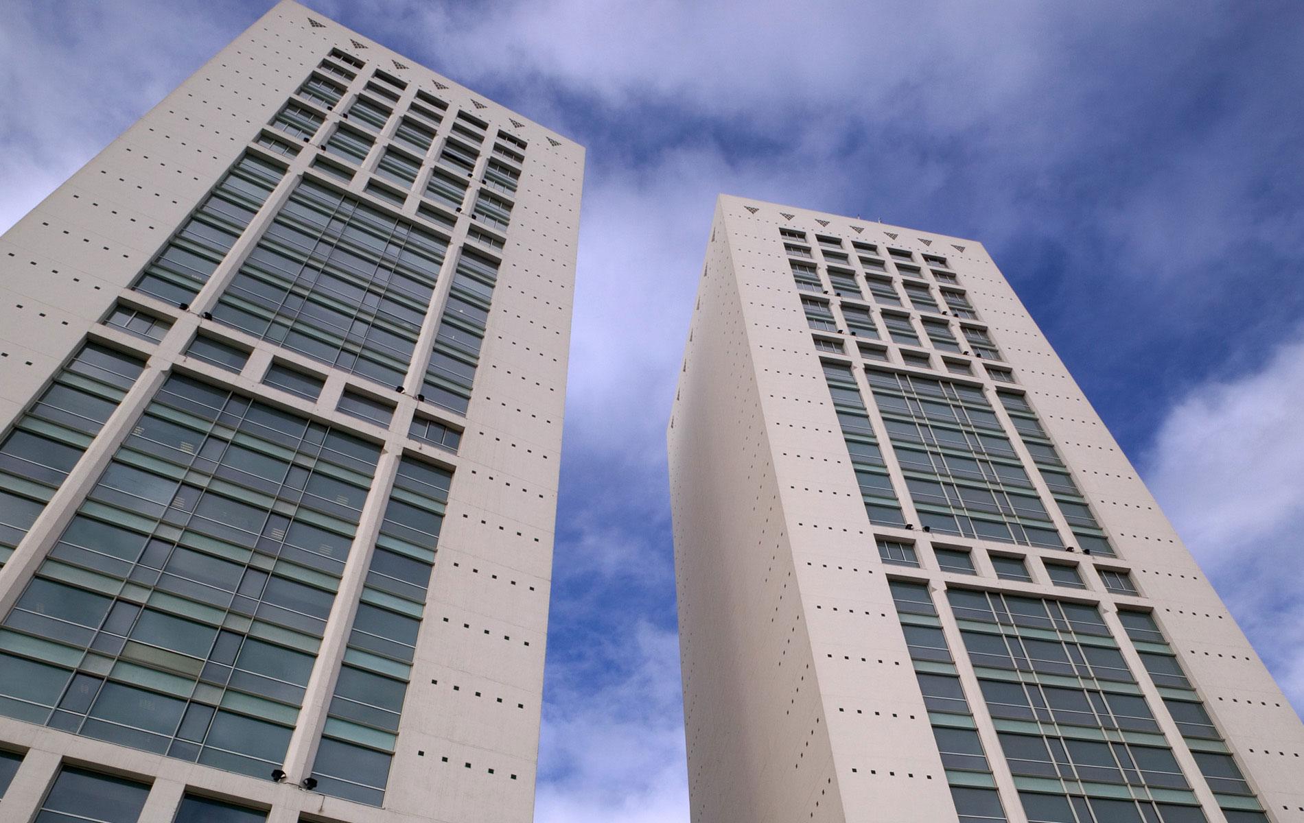 Casablanca Twin Center Ricardo Bofill Taller De