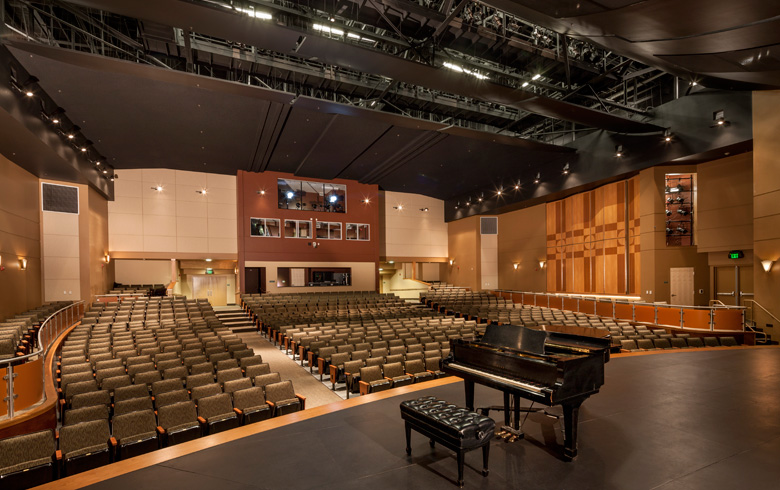 Sacramento City College  Performing Arts Center  Michael Lehmberg  Archinect