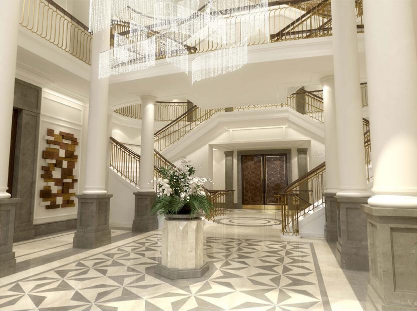 The Edmond J Safra Synagogue Building Studio Architects Archinect