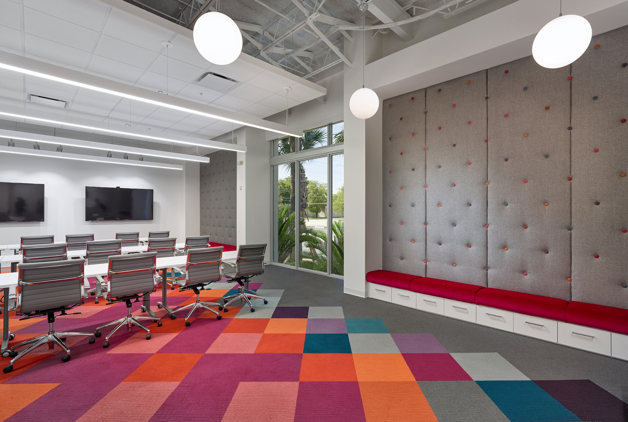 Stantec Designs Headquarters for Hospitality Upholstery