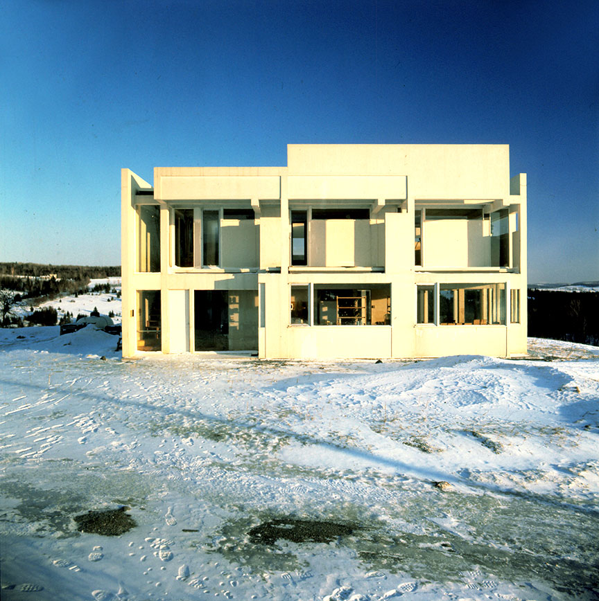 Eisenmans iconic House II is now on the market for 850K  News  Archinect
