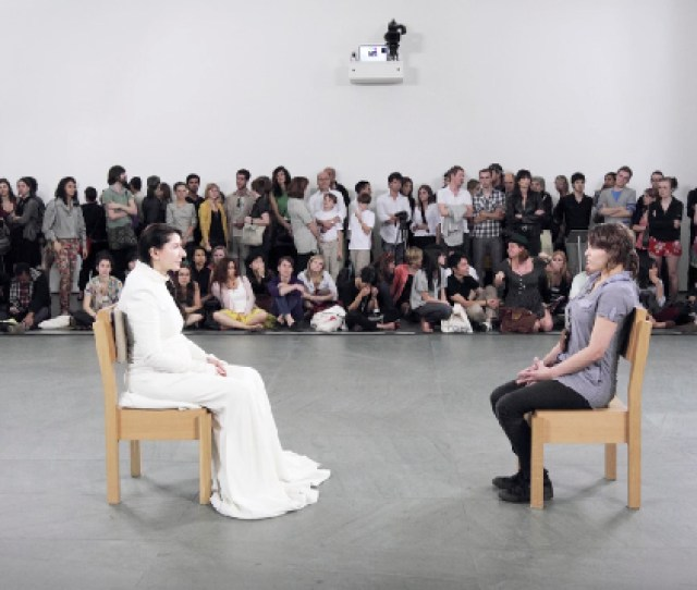 Marina Abramovic The Artist Is Present 2010 Moma