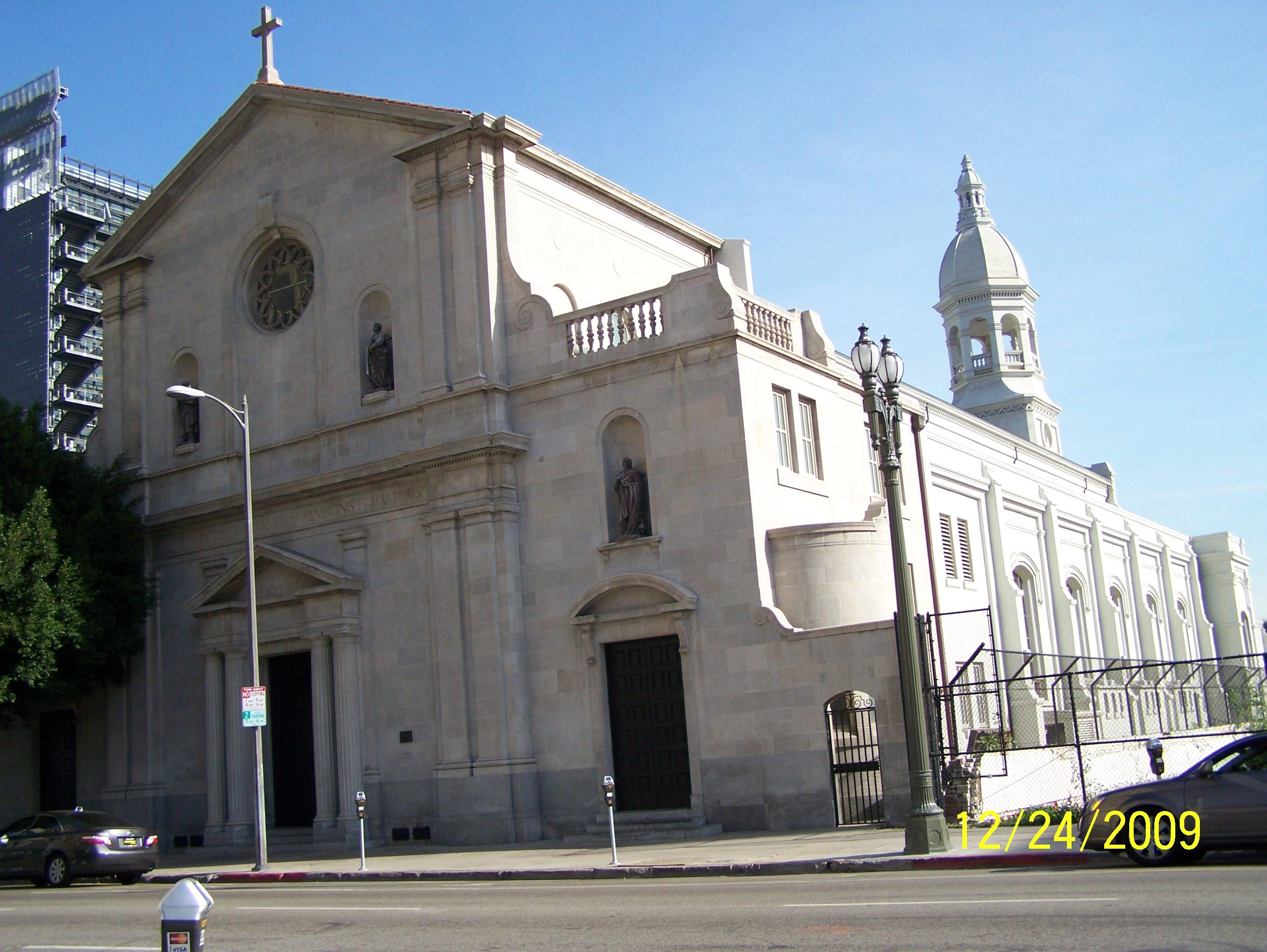 Saint Vibiana Cathedral  Jeffrey Weinstein  Archinect