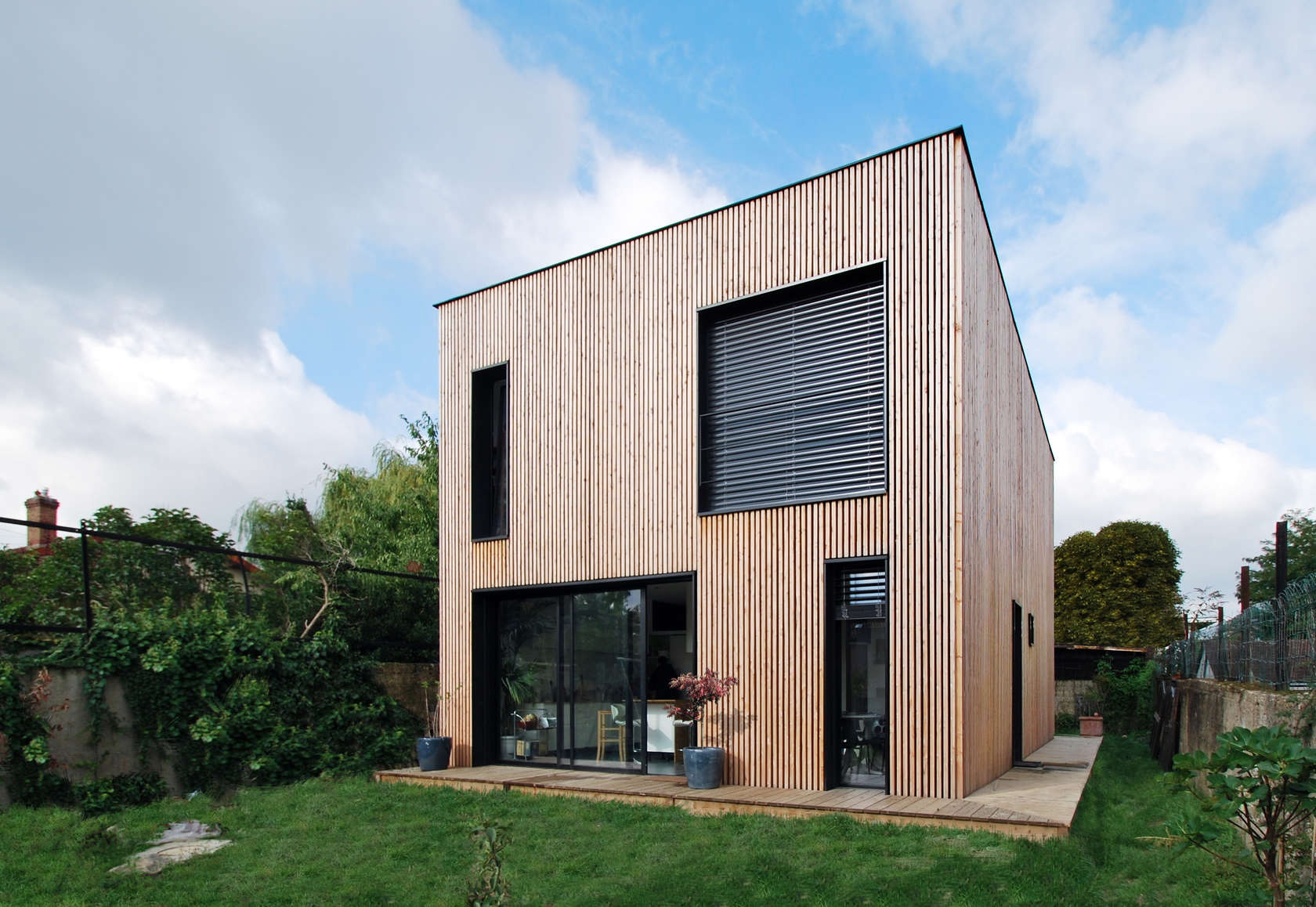 Wooden Houses A Series Of Residential Buildings That